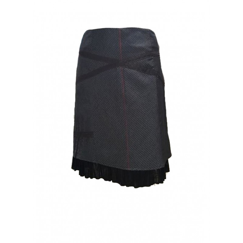 06c236dddba0 Φούστα σε τζιν ελαστικό ύφασμα