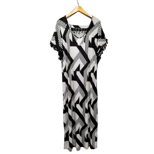 Ανάλαφρο φόρεμα maxi  σε ελαστικό ζέρσεϊ ύφασμα2252